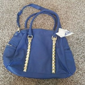 Steve Madden purse with gold hardware and studs